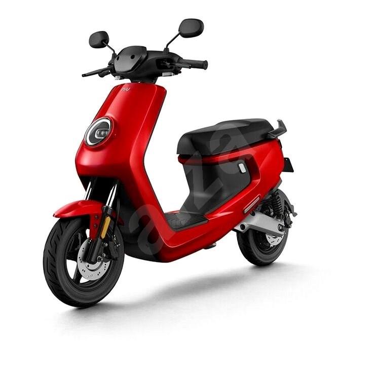 NIU M+ Sport red - Elektroskútr