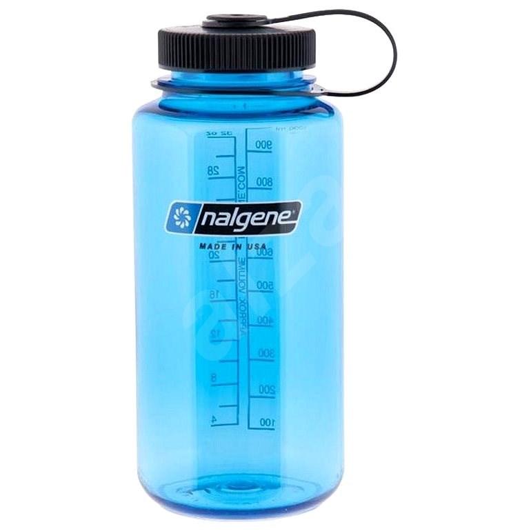 Nalgene Wide Mouth 1000 ml Blue - Láhev na pití
