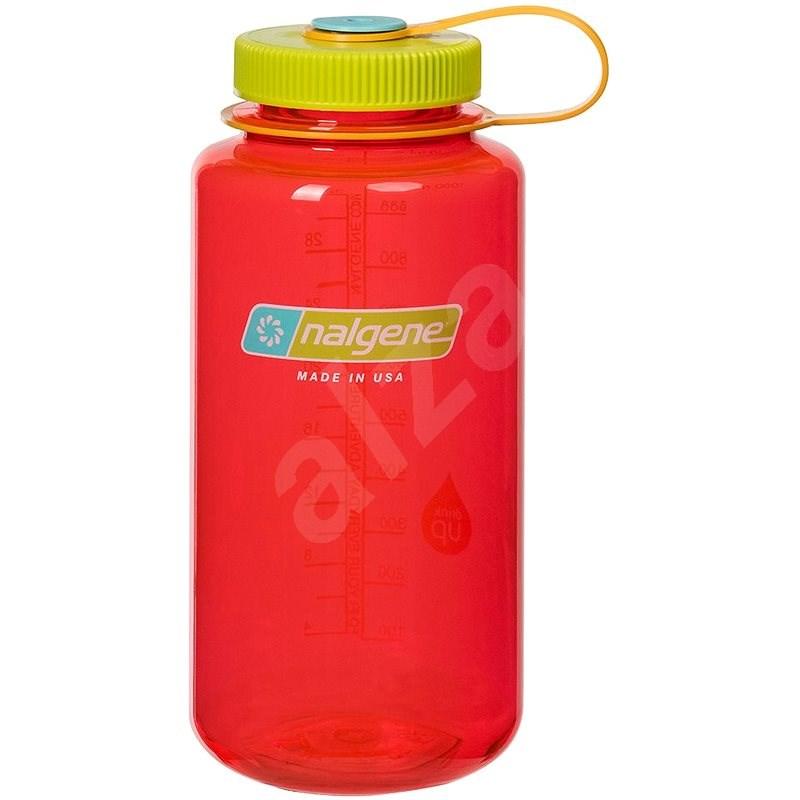 Nalgene Wide Mouth 1000 ml Pomegranate - Láhev na pití