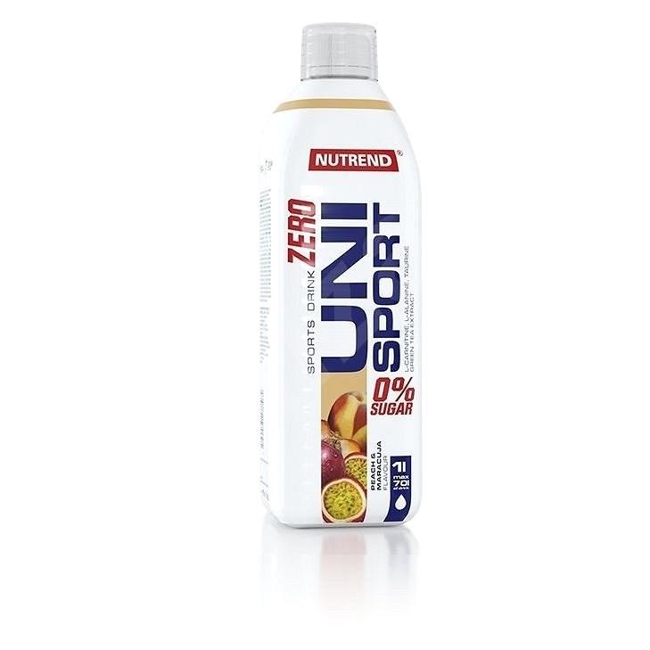 Nutrend Unisport Zero, 1000 ml, broskev + maracuja - Iontový nápoj