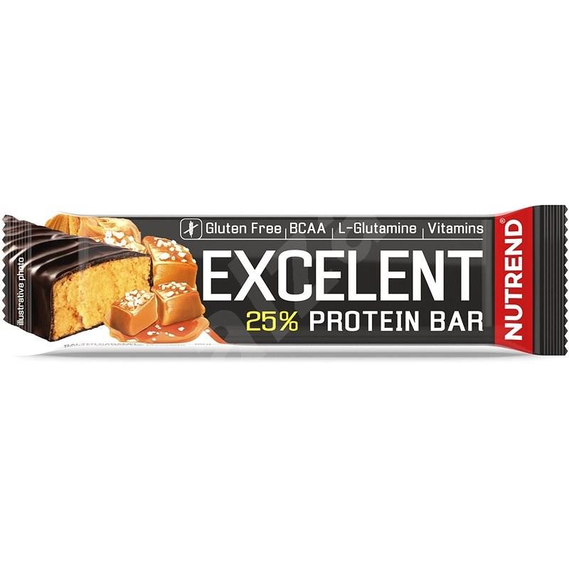 Nutrend EXCELENT protein bar, 85 g, slaný karamel - Proteinová tyčinka