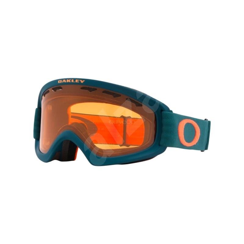 OAKLEY OF2.0 PRO XS PoseidonOrg w/Pers&DkGry - Lyžařské brýle