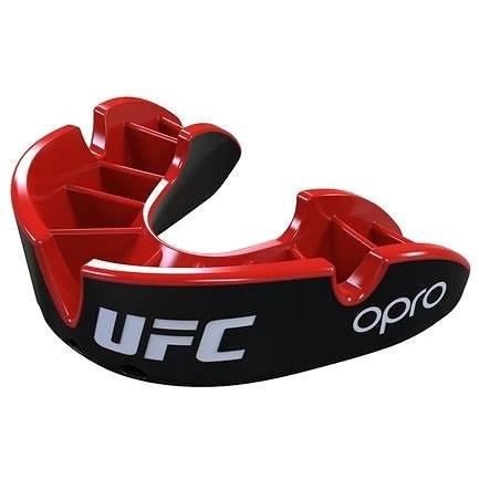 Opro UFC Silver black - Chránič zubů