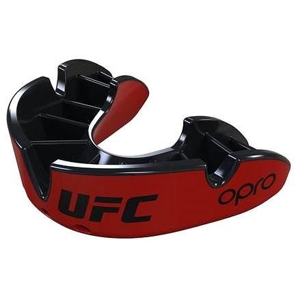 Opro UFC Silver red - Chránič zubů