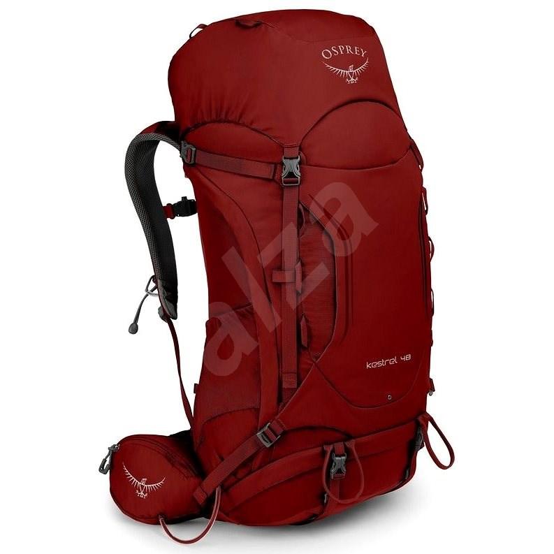 Osprey KESTREL 48 II rogue red - Turistický batoh
