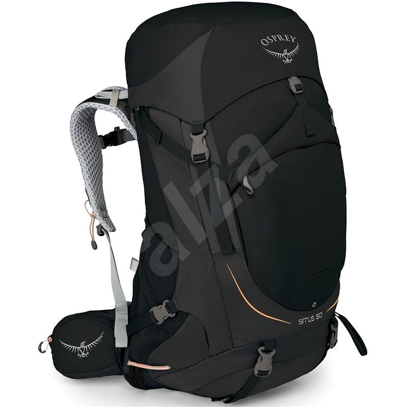 Osprey SIRRUS 50 II black - Turistický batoh