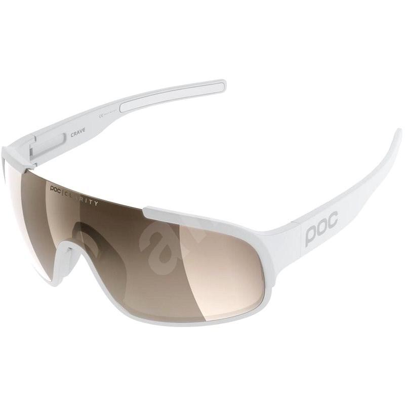 POC Crave Hydrogen White BSM - Cyklistické brýle