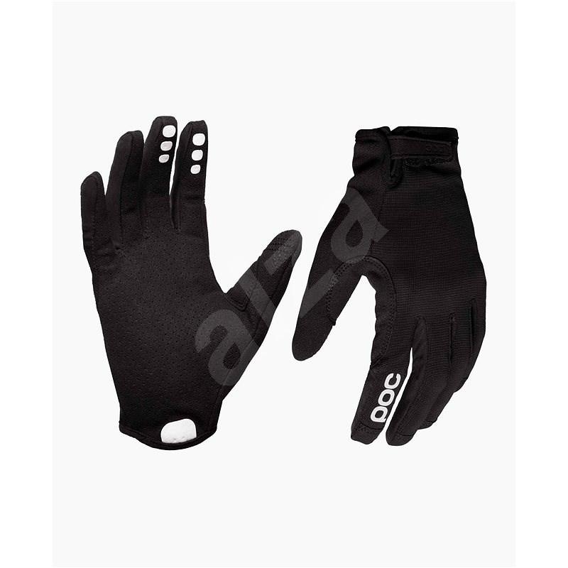 POC Resistance Enduro Adj Glove Uranium black/Uranium Black S - Cyklistické rukavice