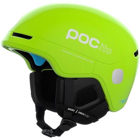 POC POCito Obex SPIN Fluorescent Yellow/Green XSS (51-54 cm) - Lyžařská helma