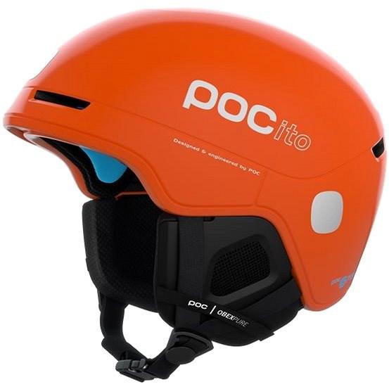 POC POCito Obex SPIN Fluorescent Orange MLG (55-58 cm) - Lyžařská helma