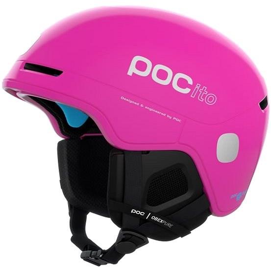 POC POCito Obex SPIN Fluorescent Pink XXS (48-52 cm) - Lyžařská helma