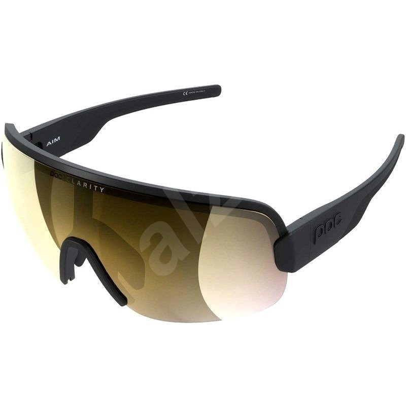 POC Aim Uranium Black VGM - Cyklistické brýle