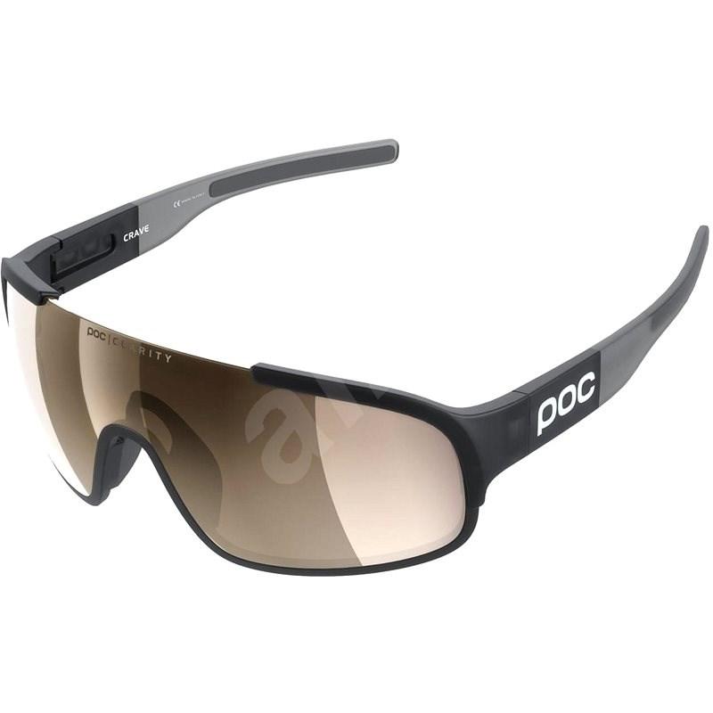 POC Crave Uranium Black Translucent/Grey BSM - Cyklistické brýle