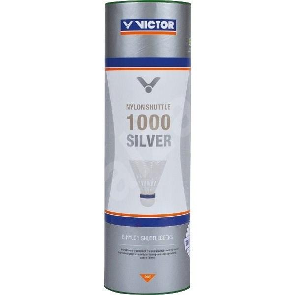 Victor Nylon 1000 yellow, pomalé - Badmintonový míč