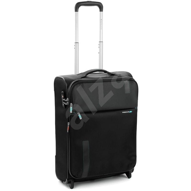 Roncato Speed 55, 2 kolečka, EXP černá - Cestovní kufr s TSA zámkem