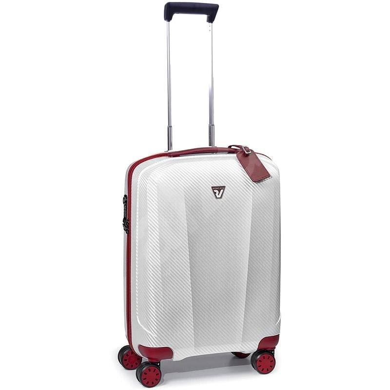 Roncato We Are 55 cm bílá - Cestovní kufr s TSA zámkem
