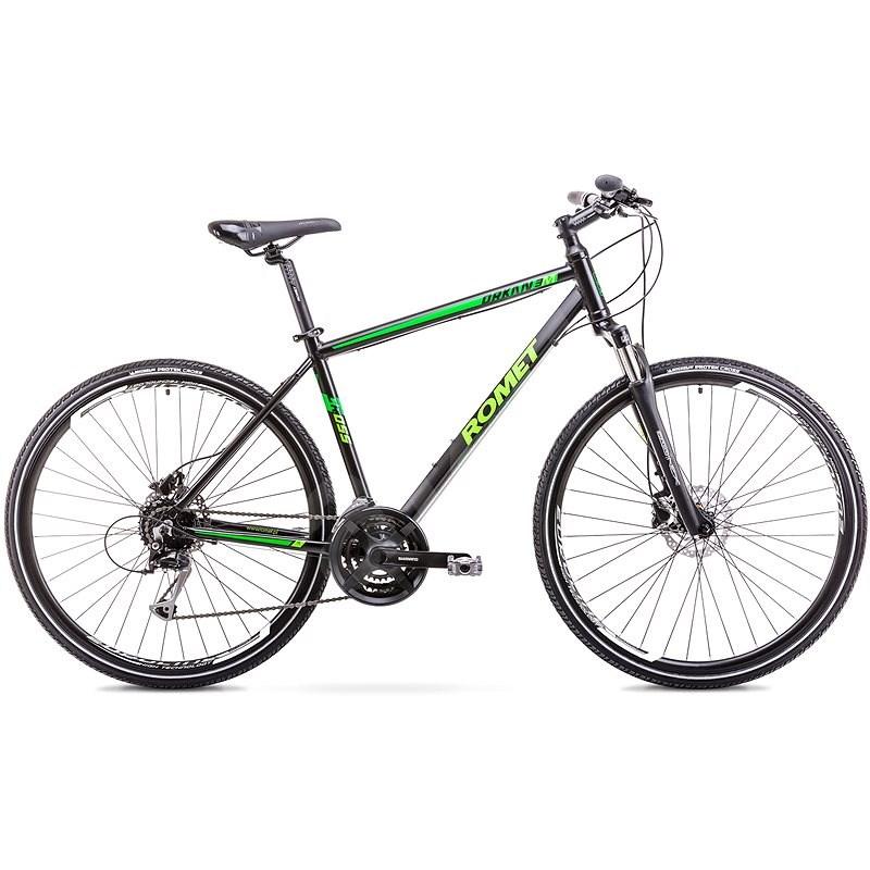 "ROMET ORKAN 3 M Black - Green vel. M/19"" - Krosové kolo"