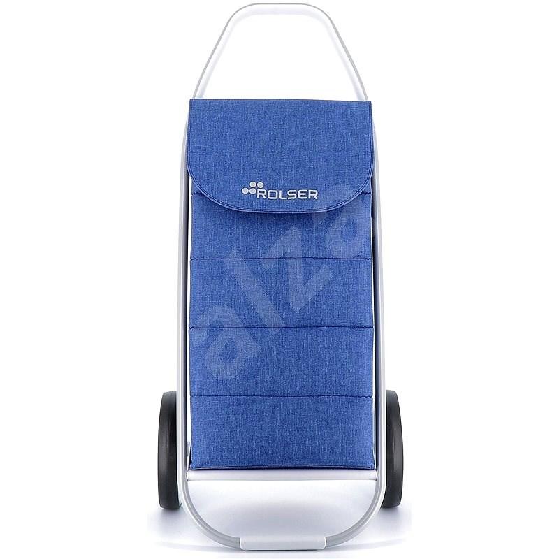 Rolser Com Tweed Polar 8 modrá - Nákupní taška na kolečkách