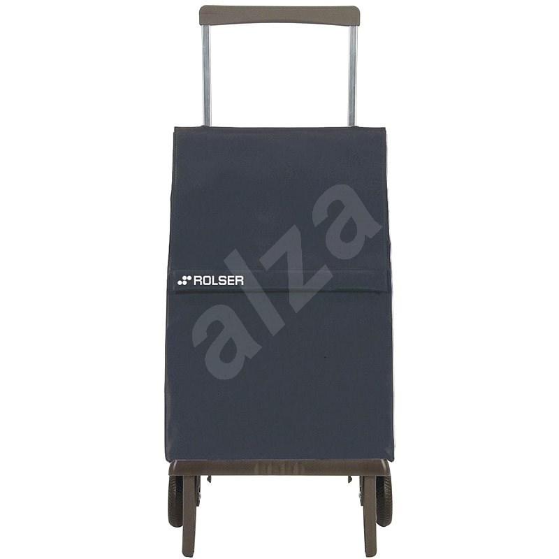 Rolser Plegamatic Original MF tmavě šedá - Nákupní taška na kolečkách