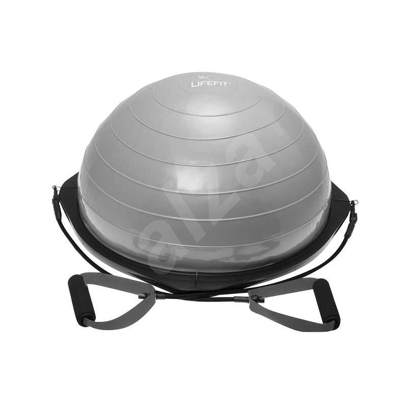 Lifefit Balance ball 58cm, stříbrná - Balanční podložka