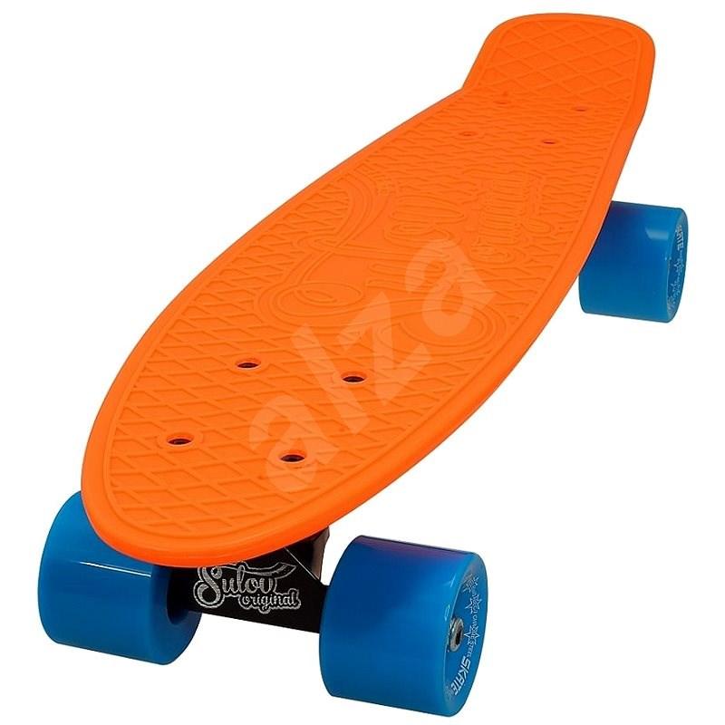 Sulov Neon Speedway oranžovo-modrý - Skateboard