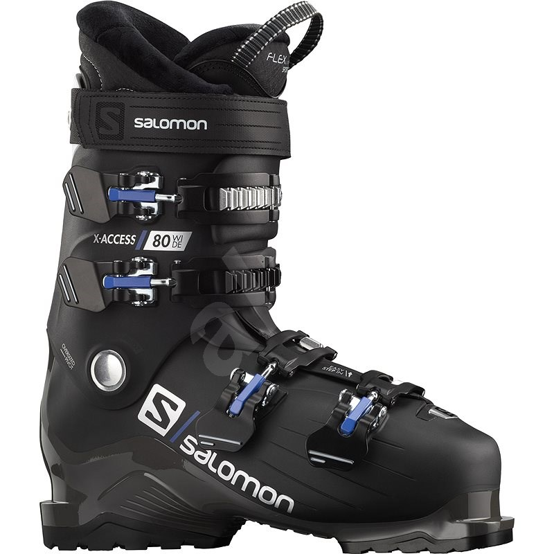 Salomon X Access 80 wide Black/White vel. 44 - 45 EU / 280-285 mm - Lyžařské boty