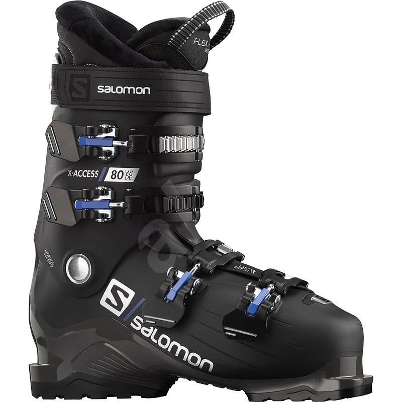Salomon X Access 80 wide Black/White vel. 45 1/3 - 46 EU / 290-295 mm - Lyžařské boty