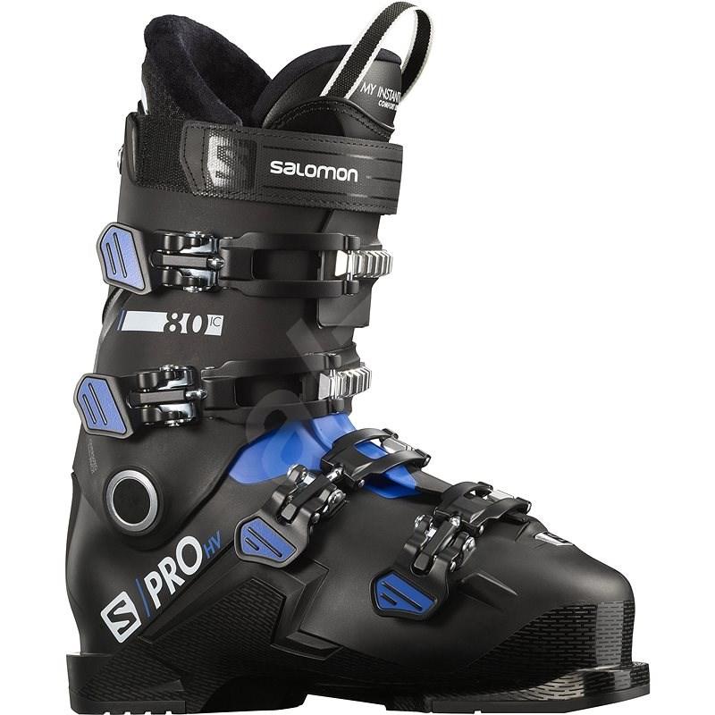 Salomon S/Pro HV 80 IC Black/Race B/W vel. 47 - 48 EU / 300-305 mm - Lyžařské boty