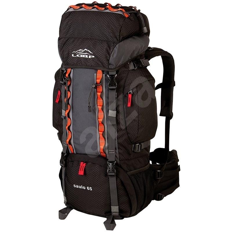 Loap Saulo 65 black/gray - Turistický batoh