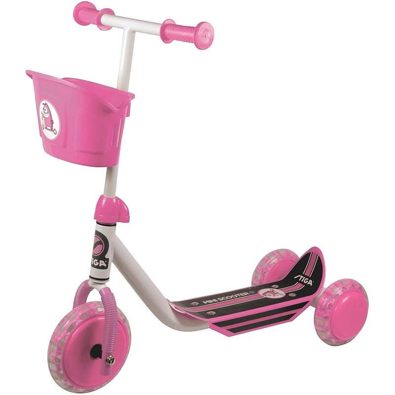 Stiga Mini Kid 3W růžová - Dětská koloběžka