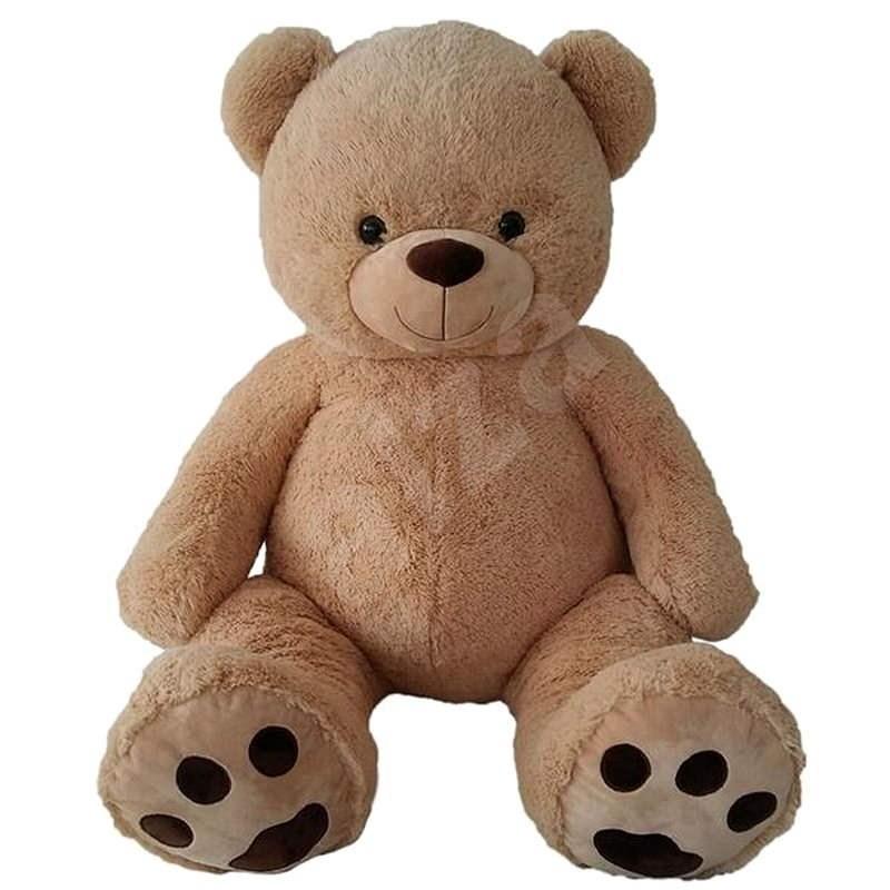 Medvěd 135 cm béžový - Plyšák