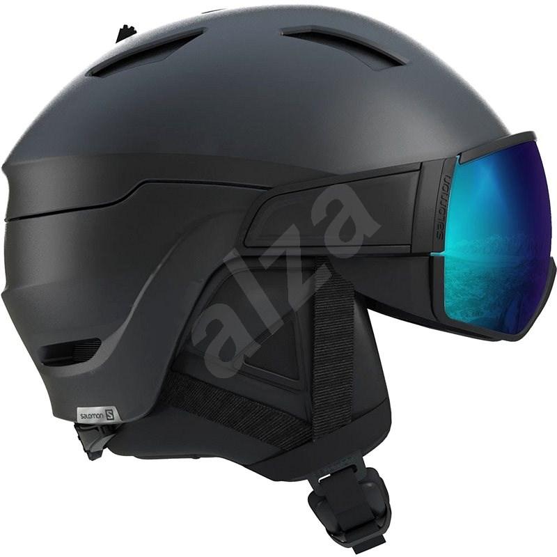 Salomon Driver S All Black/ Silver vel. L (59-62 cm) - Lyžařská helma
