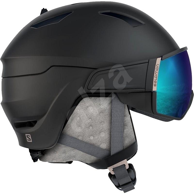 Salomon Mirage S Black/Rose Gold/Univ. vel. M (56-59 cm) - Lyžařská helma
