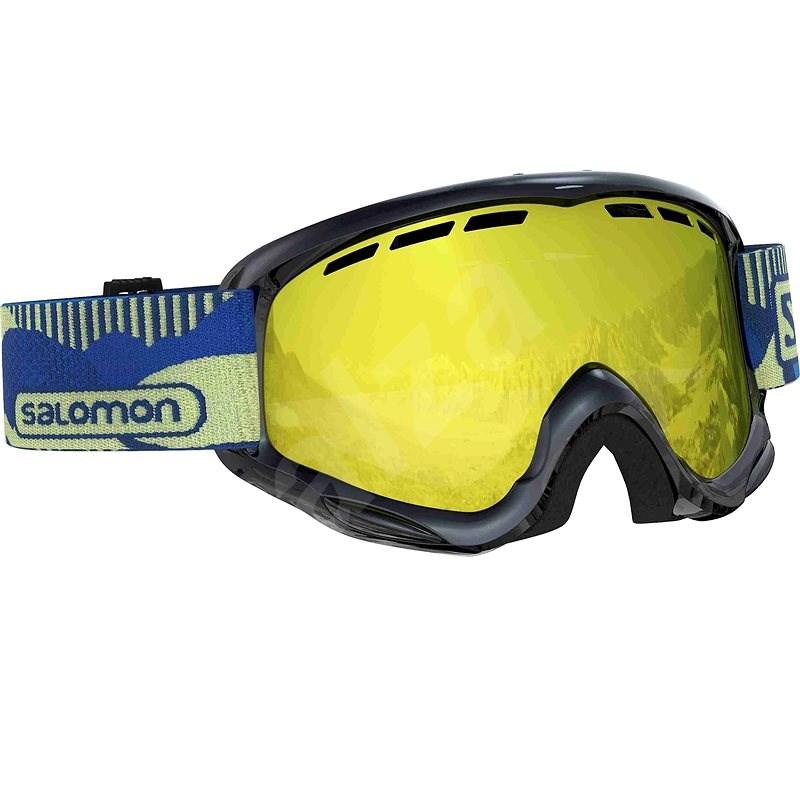 Salomon Juke Black Pop/Univ. Mid Yello - Lyžařské brýle