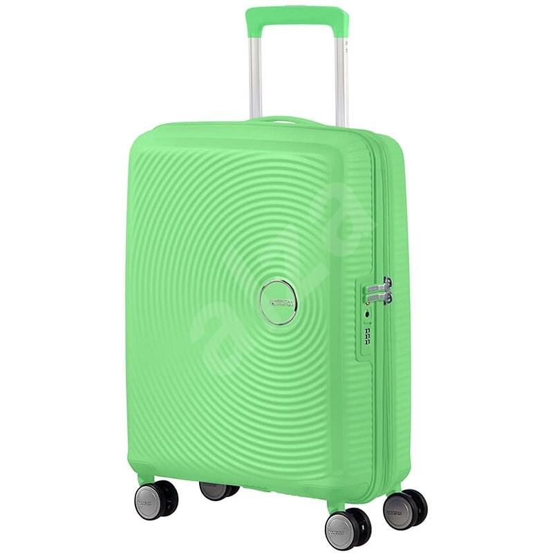 American Tourister Soundbox SPINNER 55/20 EXP TSA Spring Green - Cestovní kufr s TSA zámkem