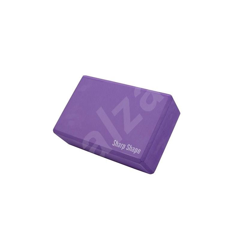 Sharp Shape Yoga block purple - Blok