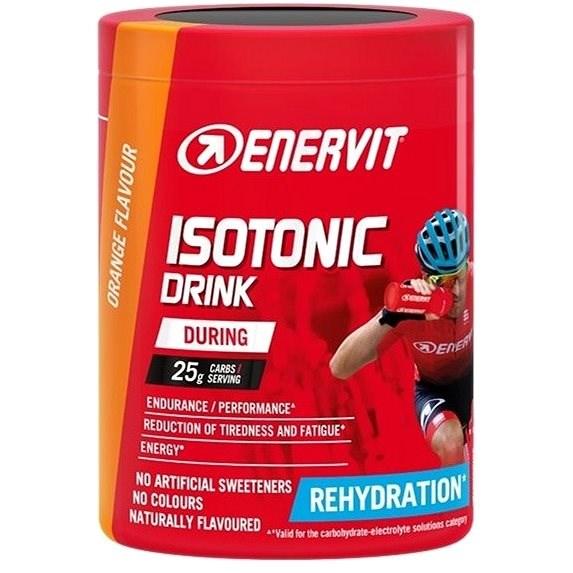 Enervit Isotonic Drink (420 g) pomeranč - Iontový nápoj