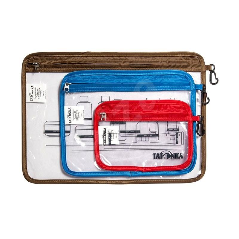 Tatonka Zip Flight Bag Set Transparent Uni - Kosmetická taštička
