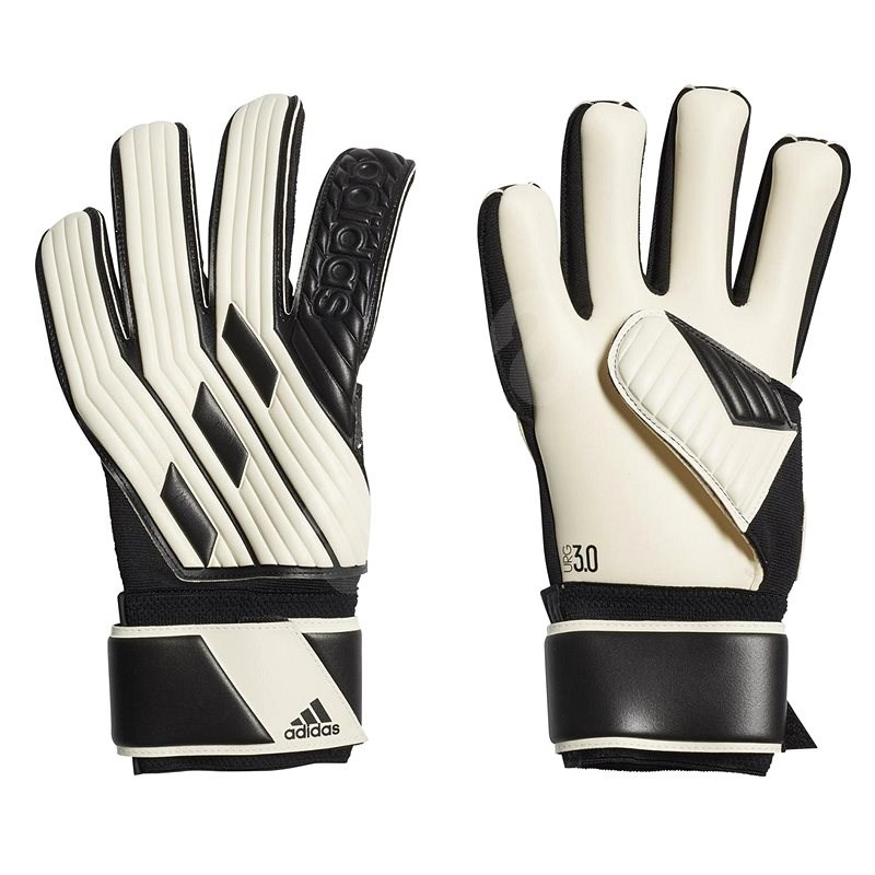 Adidas Tiro League Goalkeeper, bílá/černá, vel. 10 - Brankářské rukavice