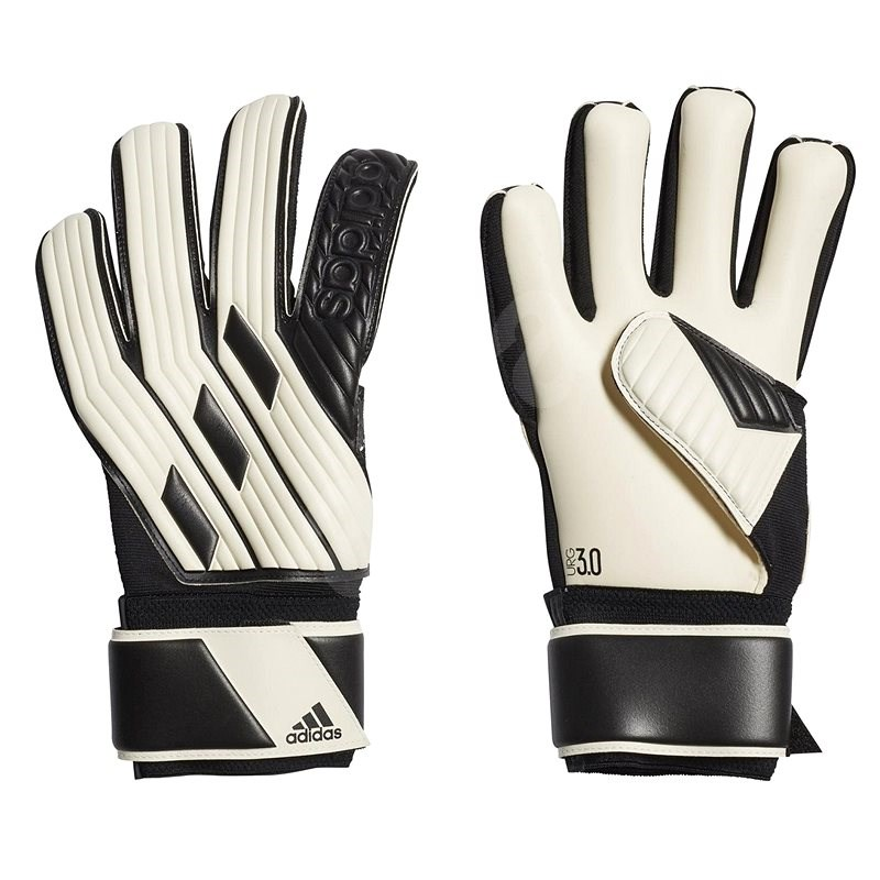 Adidas Tiro League Goalkeeper, bílá/černá, vel. 7,5 - Brankářské rukavice