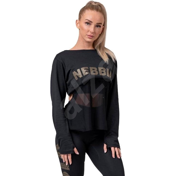 Nebbia Intense Mesh black M - Tričko