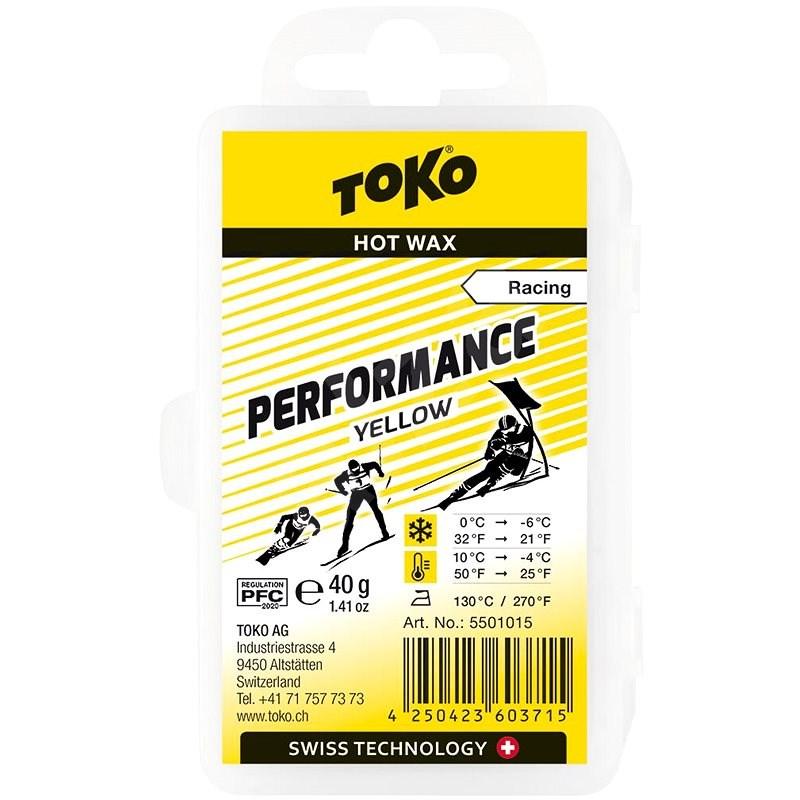 Toko Performance parafín žlutý 40g - Vosk