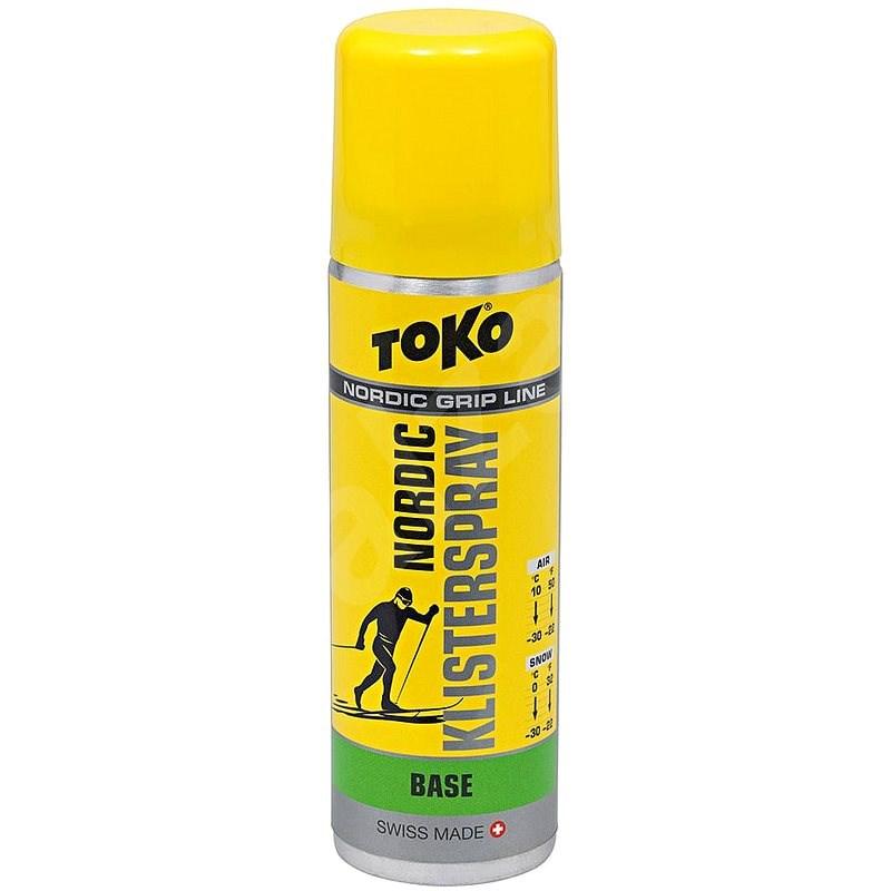 Toko Nordic Klister Spray Base zelený 70ml - Vosk