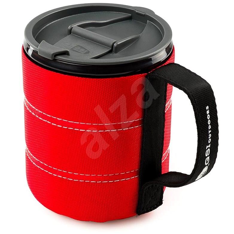 GSI Outdoors Infinity Backpacker Mug 500 ml red - Hrnek