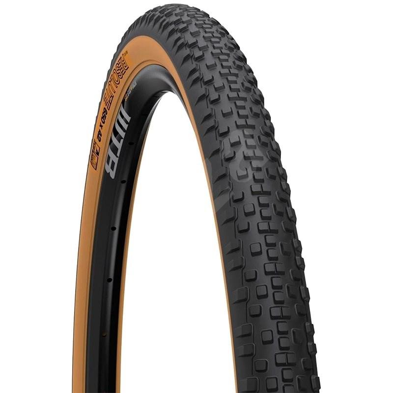WTB Resolute 650 x 42c TCS Light Fast Rolling Tire (tanwall) - Plášť na kolo
