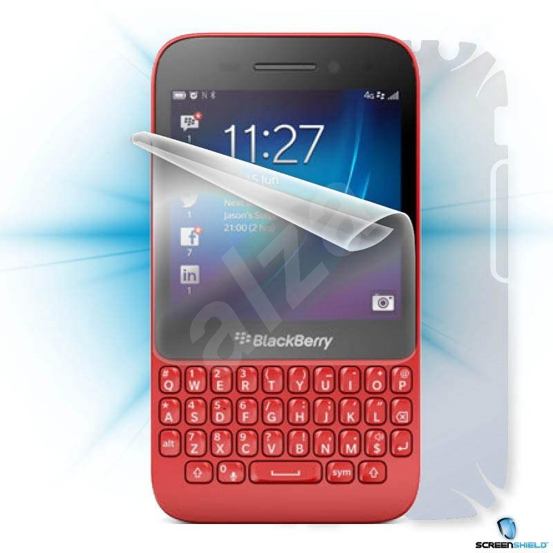 ScreenShield pro Blackberry Q5 na celé tělo telefonu - Ochranná fólie