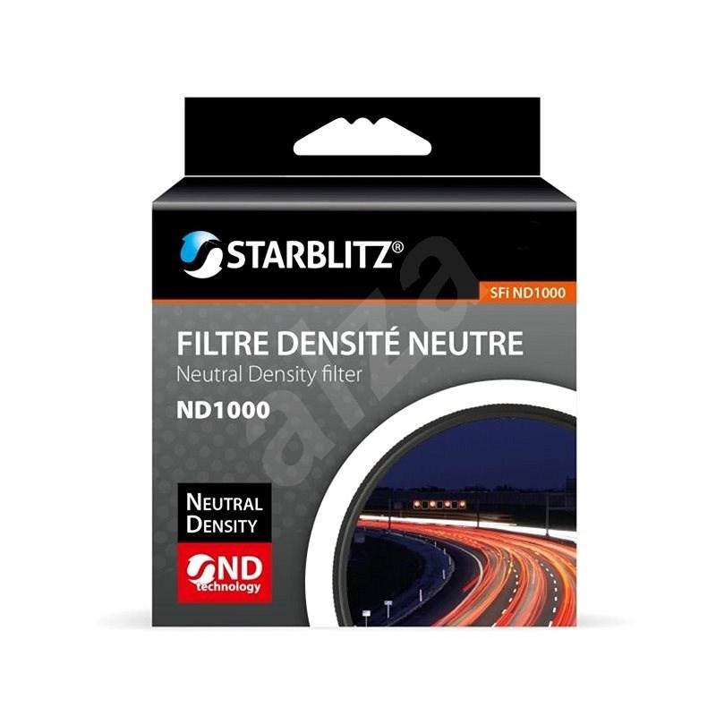 Starblitz neutrálně šedý filtr 1000x 62mm - ND filtr