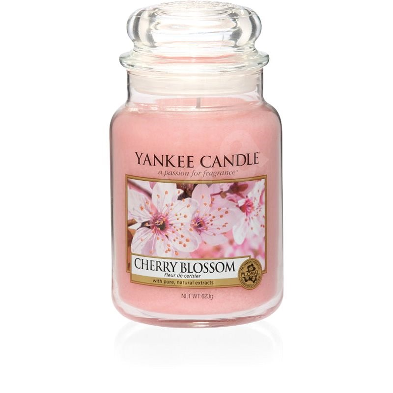 YANKEE CANDLE Cherry Blossom 623 g - Svíčka