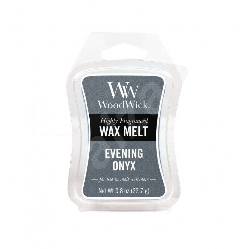 WOODWICK Evening Onyx 22,7 g - Vonný vosk