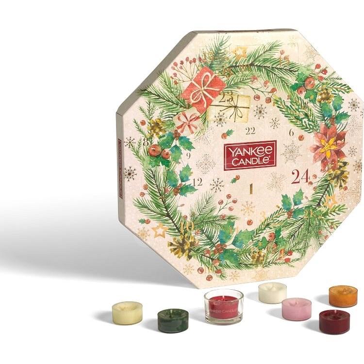 YANKEE CANDLE Set adventní kalendář - Dárková sada